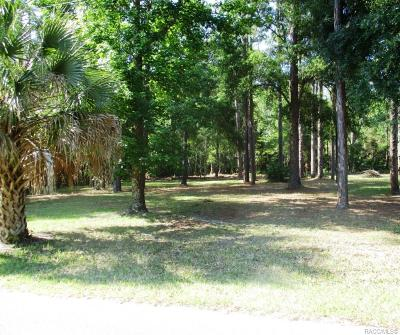 Homosassa Residential Lots & Land For Sale: 7634 W Narcissus Lane