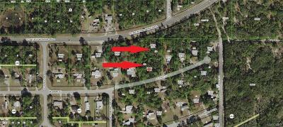 Homosassa Residential Lots & Land For Sale: 6093 W Grant Street