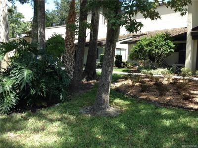 Crystal River Condo/Townhouse For Sale: 1637 SE Paradise Circle #206