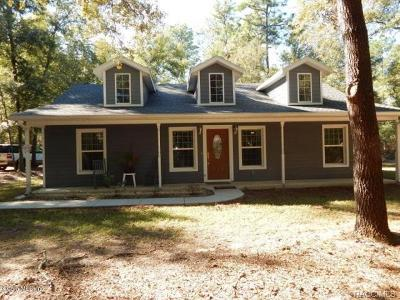 Dunnellon Single Family Home For Sale: 20848 SW 54th Street