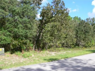 Citrus County Residential Lots & Land For Sale: 5 Bells Of Ireland Court