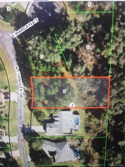 Hernando Residential Lots & Land For Sale: 3758 N Chandler Drive