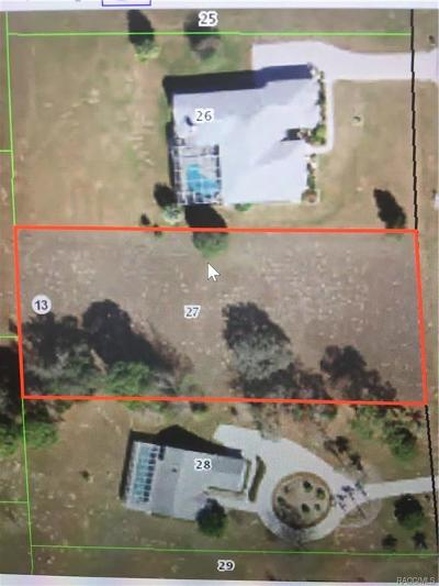 Hernando Residential Lots & Land For Sale: 464 N Cherry Pop Drive