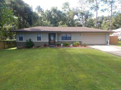 Inverness Highlands West Single Family Home For Sale: 6094 E Sage Street