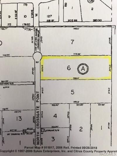 Beverly Hills Residential Lots & Land For Sale: 5417 N Crossgate Point