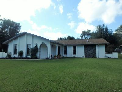 Inverness Highlands South Single Family Home For Sale: 927 Sherwood Avenue