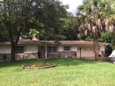 Inverness Single Family Home For Sale: 208 W Inverness Boulevard