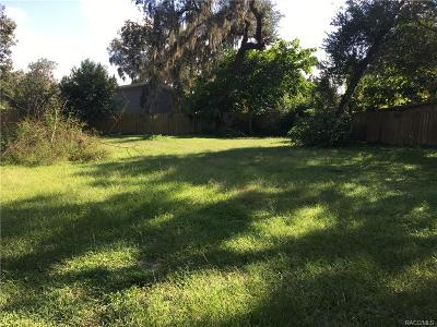 Floral City Residential Lots & Land For Sale: 10624 E Turtle Lane