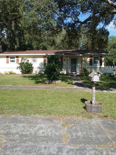 Citrus Springs Single Family Home For Sale: 10123 N Alden Way