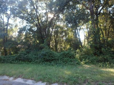 Inverness Residential Lots & Land For Sale: 3366 S Dayton Terrace