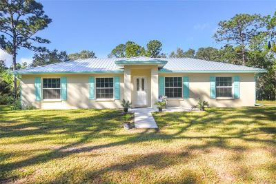 Crystal River Single Family Home For Sale: 4578 N Tallahassee Road