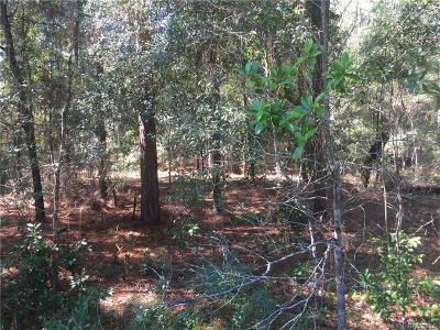 Dunnellon Residential Lots & Land For Sale: 00 SW 205 Circle