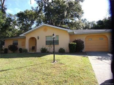 Citrus County Rental For Rent: 4647 S Silver Fox Terrace