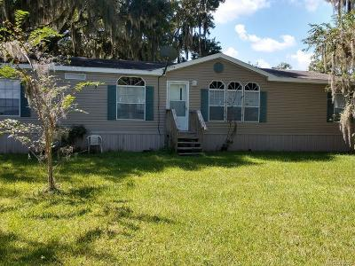 Crystal River Single Family Home For Sale: 10924 N Peeler Point