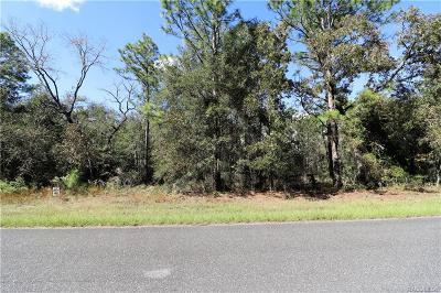 Citrus Springs Residential Lots & Land For Sale: 217 W Ruska Place