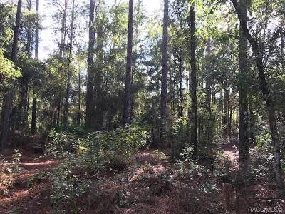 Dunnellon Residential Lots & Land For Sale: 2910 W Sunkist Lane