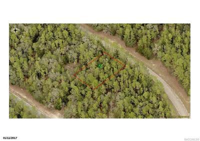 Citrus Springs Residential Lots & Land For Sale: 8602 N Stern Way