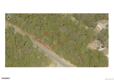 Citrus Springs Residential Lots & Land For Sale: 8759 N Upland Drive