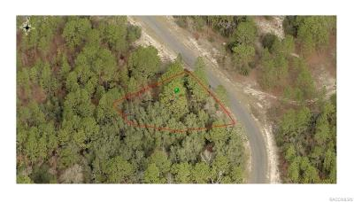 Citrus Springs Residential Lots & Land For Sale: 9098 N Abaco Way