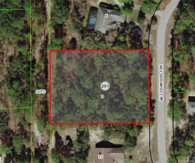 Pine Ridge Residential Lots & Land For Sale: 3630 W Cogwood Circle