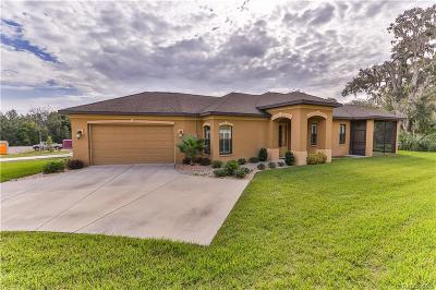 Hernando FL Single Family Home For Sale: $249,900