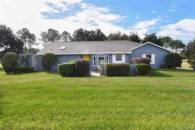 Hernando FL Single Family Home For Sale: $149,900