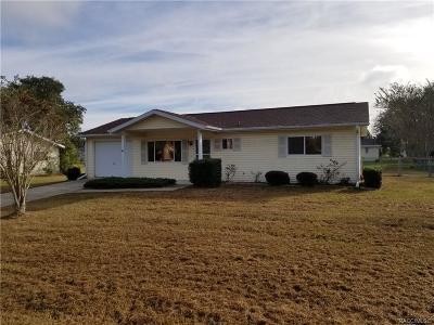 Ocala Single Family Home For Sale: 11125 SW 79th Terrace