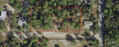 Dunnellon Residential Lots & Land For Sale: W Rayburn Street