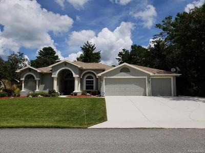 Homosassa Single Family Home For Sale: 13 Matricaria Court