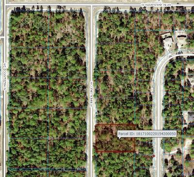Residential Lots & Land For Sale: 4090 W Malaluka Circle