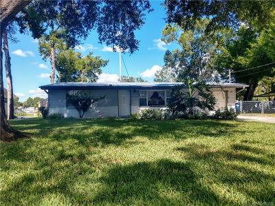 Crystal River Single Family Home For Sale: 1911 NW 15th Street