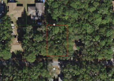 Inverness Residential Lots & Land For Sale: 6677 E Mobile Street
