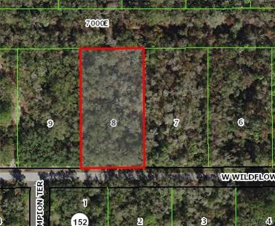 Crystal River Residential Lots & Land For Sale: 12029 W Wildflower Street
