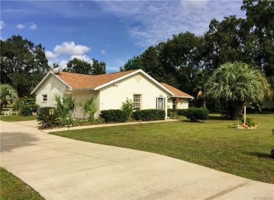 Hernando FL Single Family Home For Sale: $184,500