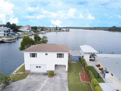 Crystal River Single Family Home For Sale: 2250 N Kings Cove Point