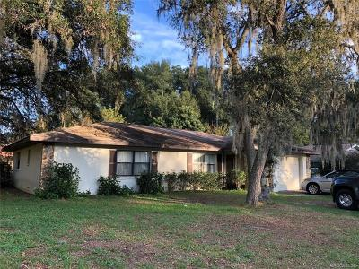 Inverness Highlands South Single Family Home For Sale: 944 S Apopka Avenue