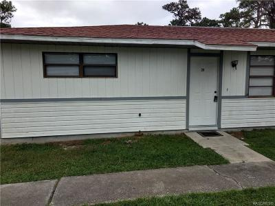 Citrus County, Levy County, Marion County Rental For Rent: 7630 W Homosassa Trail #25