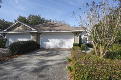 Crystal River Single Family Home For Sale: 1529 N Foxboro Loop
