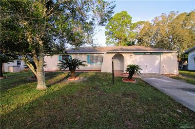 Beverly Hills FL Single Family Home For Sale: $115,000
