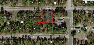 Citrus Springs Residential Lots & Land For Sale: 3848 & 3860 W Wilhelm Street