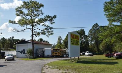 Homosassa, Dunnellon Commercial For Sale: 5640 S Suncoast Boulevard