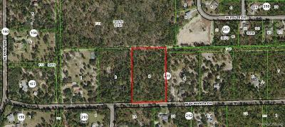 Pine Ridge Residential Lots & Land For Sale: 5555 W Bonanza Drive