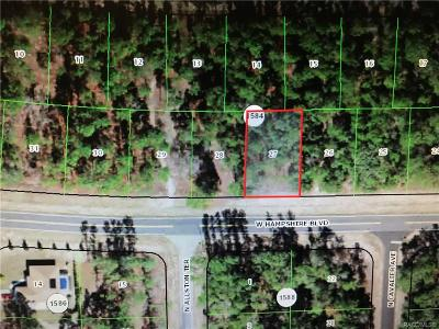 Citrus Springs Residential Lots & Land For Sale: 2909 W Hampshire Boulevard