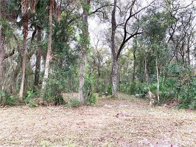 Crystal River Residential Lots & Land For Sale: Lot 6 NW 22nd Street