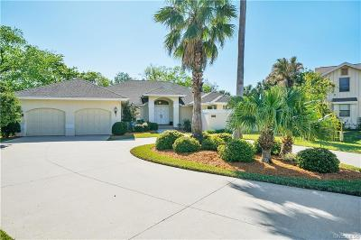 Citrus County Single Family Home For Sale: 5327 S Riverside Drive