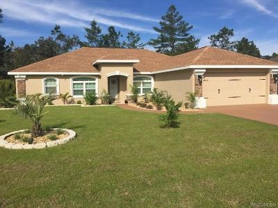 Homosassa, Dunnellon Single Family Home For Sale: 10 Vinca Street