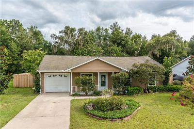 Citrus County Rental For Rent: 875 Stately Oaks Drive