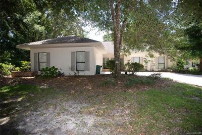 Citrus County Single Family Home For Sale: 3356 N Bent Tree Point