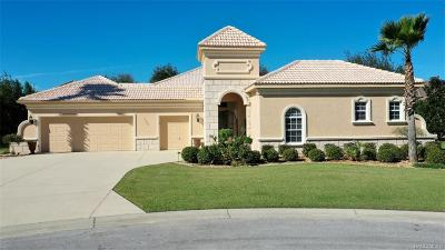 Citrus County Single Family Home For Sale: 1700 N Eagle Ridge Path