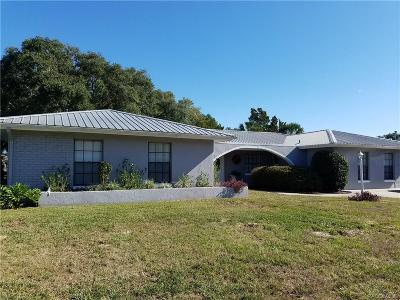 Crystal River Single Family Home For Sale: 3929 N Sagamon Point
